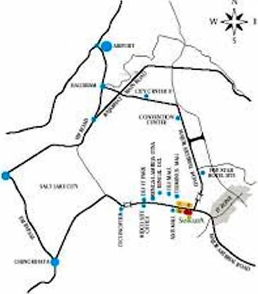 WBIIDC Sankalpa 1 Location Plan