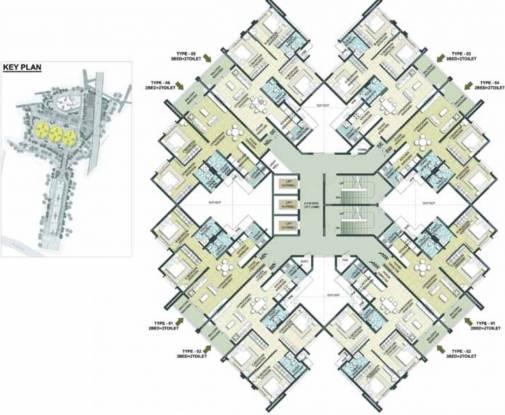 Brigade 7 Gardens Cluster Plan