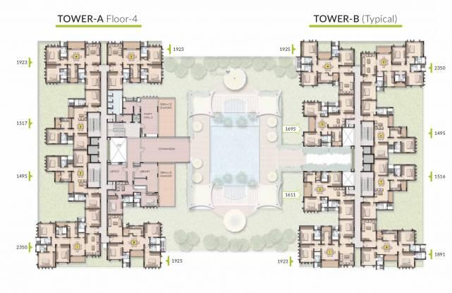 Appaswamy Trellis South Phase Cluster Plan
