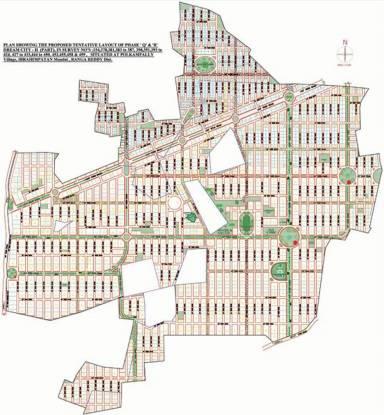 Janaharsha Dream City 2 Layout Plan