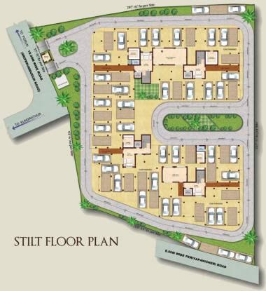 Rajkham Emerald Cluster Plan