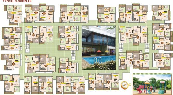 Images for Cluster Plan of Shree Krishna Builders And Developer Narayana E Golden Abode