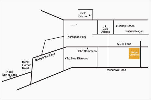 ganga-carnations Location Plan