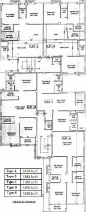 Envision Deb Kunj Cluster Plan