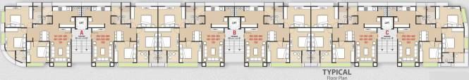 Mahavir Sai Status Tagore Residency Cluster Plan