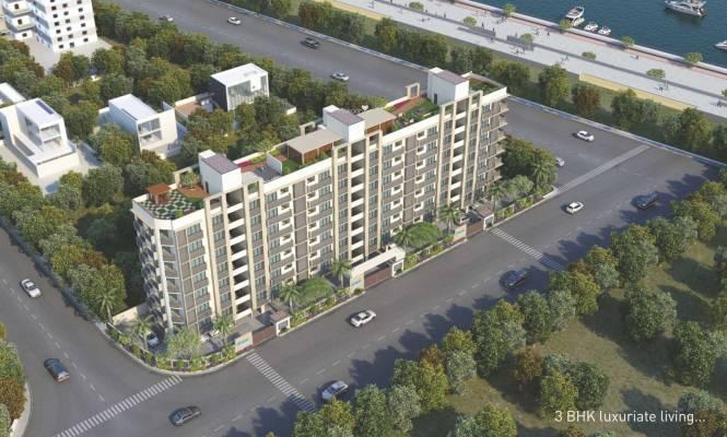 Mahavir Sai Status Tagore Residency Elevation