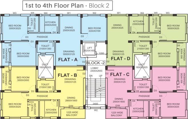 FTC Sunshine Regent Cluster Plan