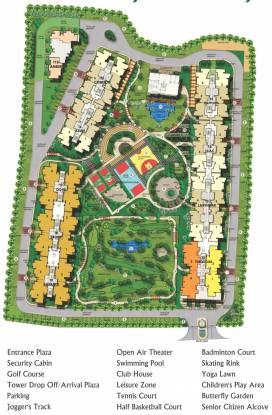 MI Central Park Layout Plan