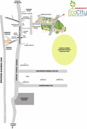 Sanghvi Ecocity Phase 3 Location Plan