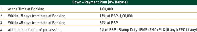 SBP City Of Dreams Payment Plan