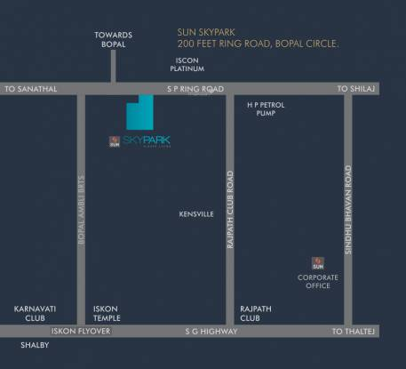 Sun Sky Park Location Plan