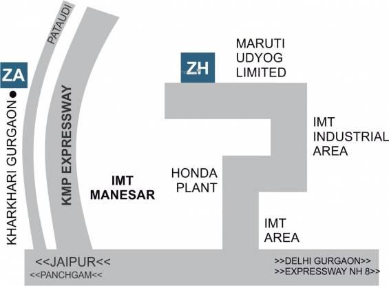 NS Zenext Avenue Location Plan