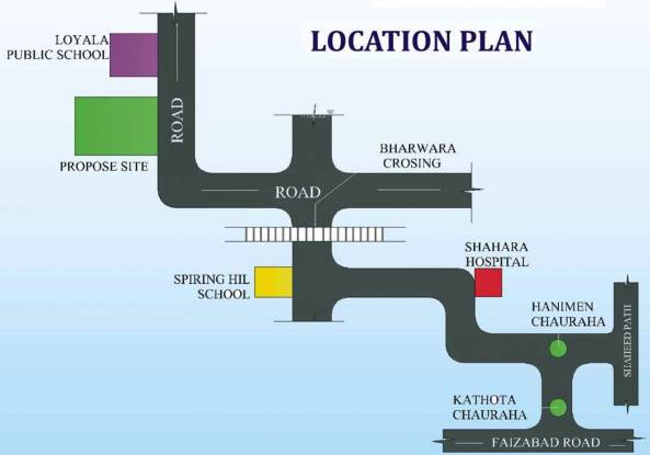 IBIS Zam Enclave Location Plan