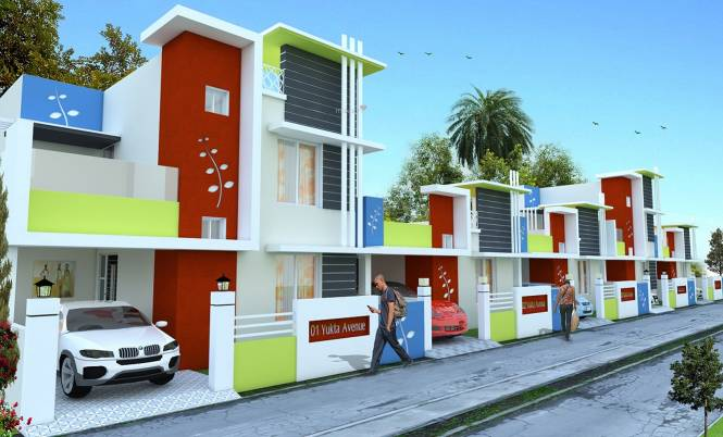 KK Yukta Avenue Elevation