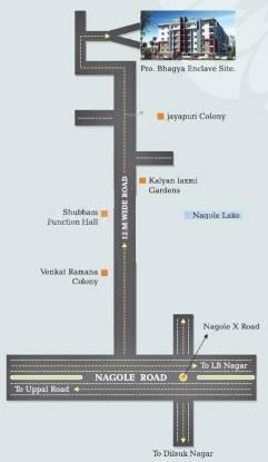 Bhagya Enclave Location Plan