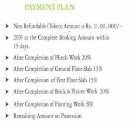 sagar-green-hills Construction Linked Payment (CLP)