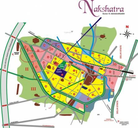 KLJ Nakshtra Location Plan