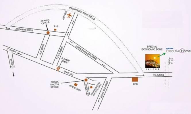 city Location Plan