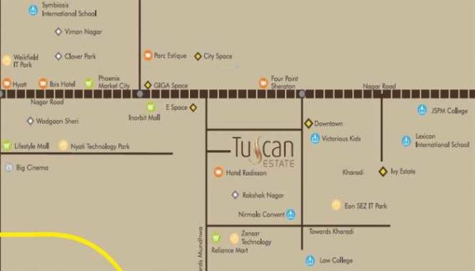 tuscan-estate-signature-meadows Location Plan
