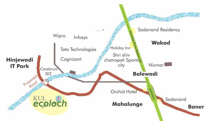 kul-ecoloch-phase-1 Location Plan
