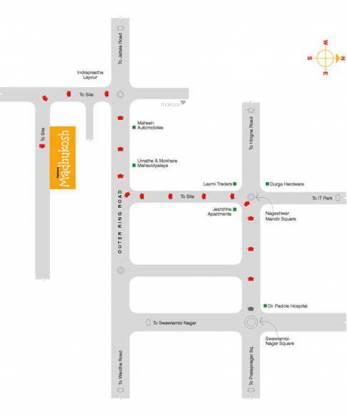 madhukosh-phase-ii Location Plan