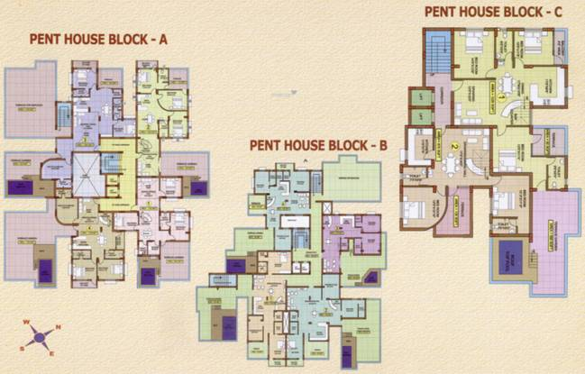 Dream Home Orchid Residency Cluster Plan