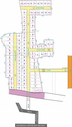 AM Lands And Property Developers Aurum Garden Layout Plan