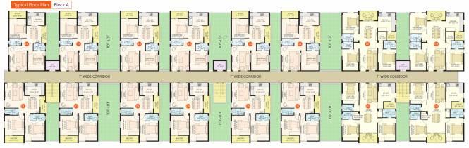 JK Poojithas Waterfront Cluster Plan