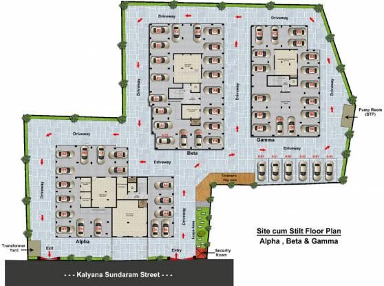 Steps Stone HariSri Site Plan