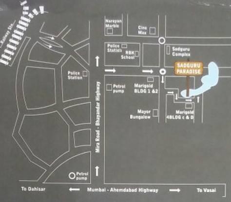 Sadguru Paradise Location Plan