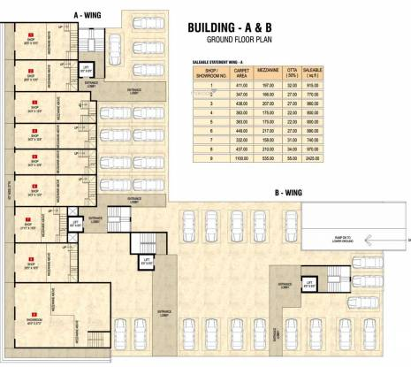 Choice Goodwill Metropolis West Phase 1 Cluster Plan