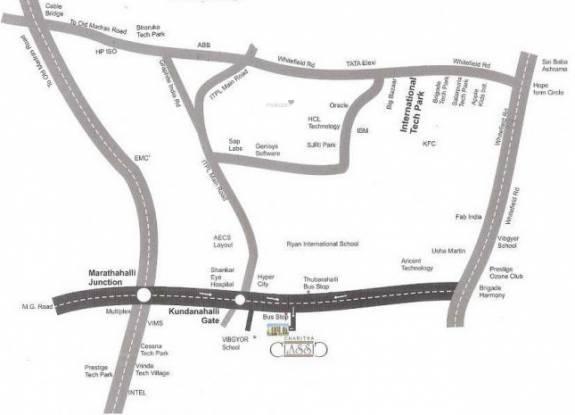 classic-apartment Location Plan