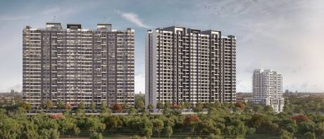 Paranjape Trident Towers Elevation