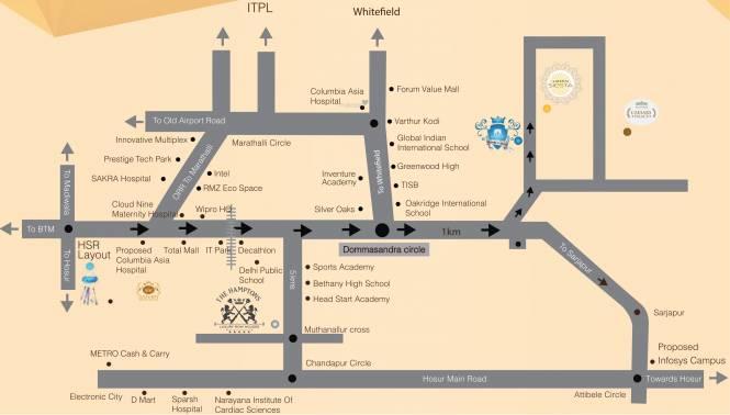 Saiven Saiven Siesta Location Plan