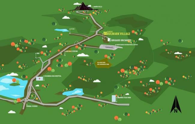 TGH Classic Bulwark Village Location Plan