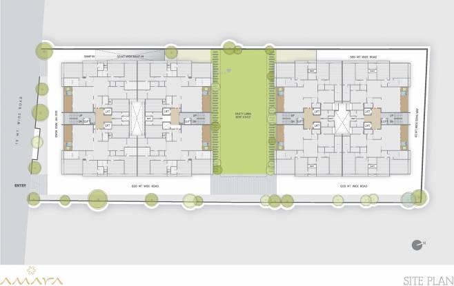 Zaveri Amara Site Plan