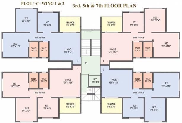 SCGK Royal Castle Cluster Plan
