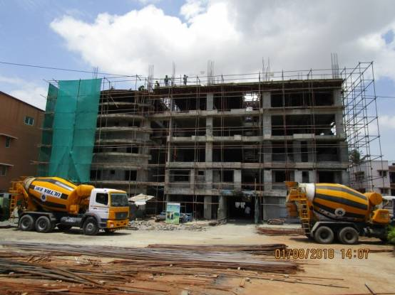 Sree Daksha Darza Construction Status
