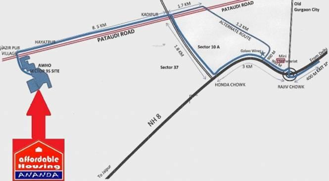 ROF Ananda Location Plan