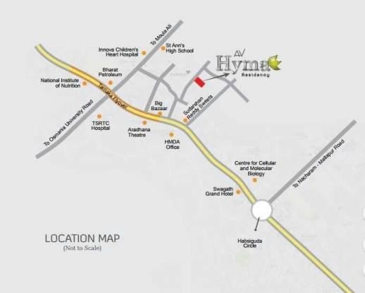 hyma-residency Location Plan