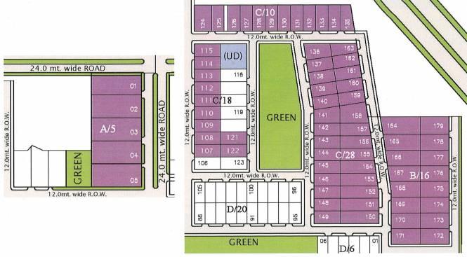 Unitech Ananda Layout Plan