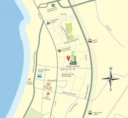 Princecare Zinnia Location Plan