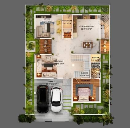 PVR Urban Life Cluster Plan