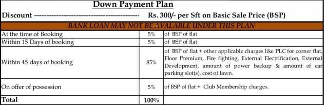 Purvanchal Kings Court Payment Plan