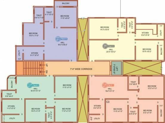 Dream Avenue Apartments Cluster Plan