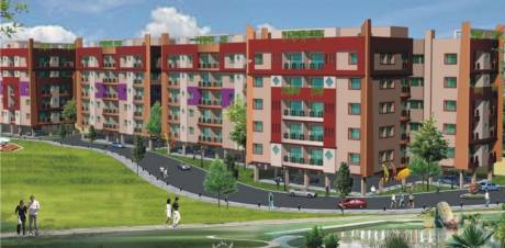 Pranami Green Residency Elevation