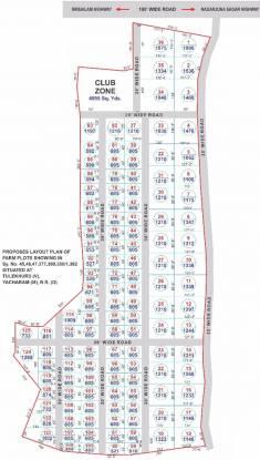 YBR Farm Acres Layout Plan