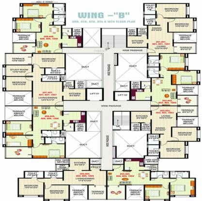 GK Silverland Residency Phase 1 Cluster Plan