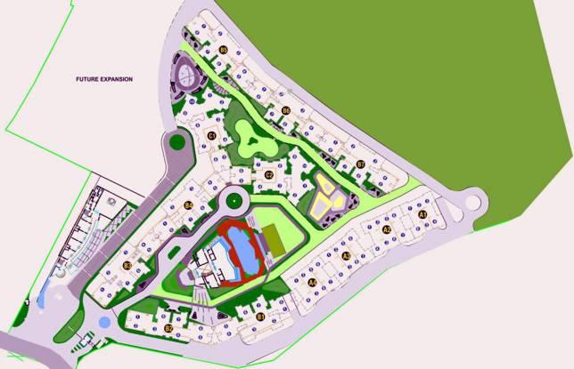 Goel Ganga Legend A3 And B3 Layout Plan