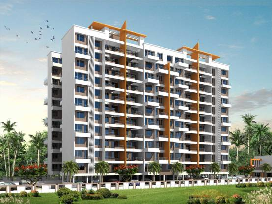Lunkad Akash Towers C And D Elevation